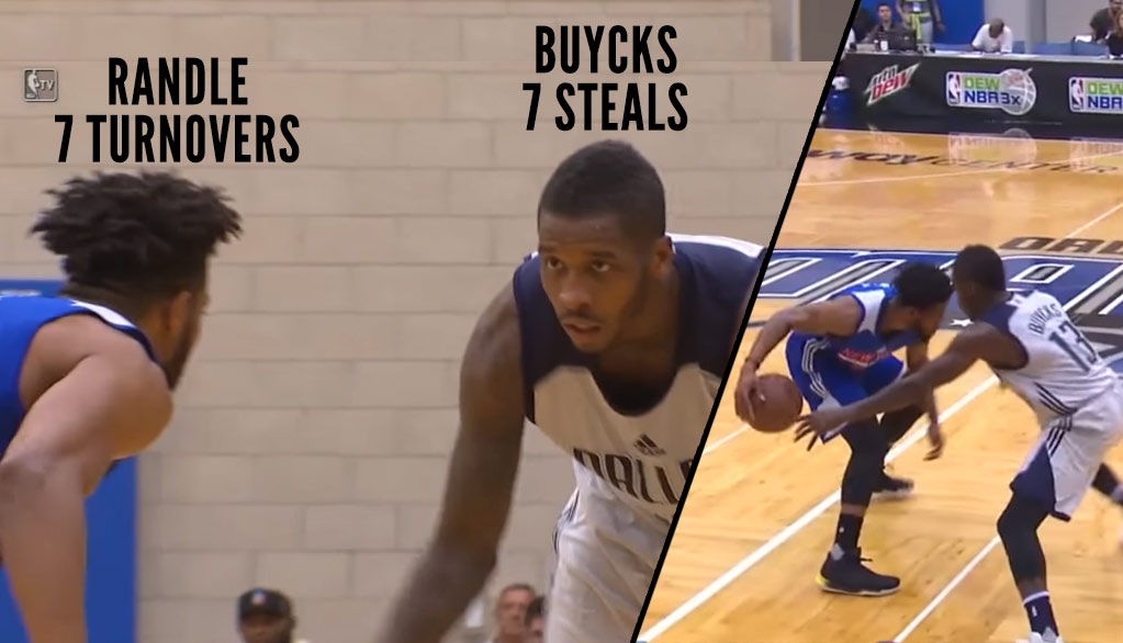 Mavs Dwight Buycks Scores 16, Shuts Down Knicks Guard With 7 Steals in Summer League