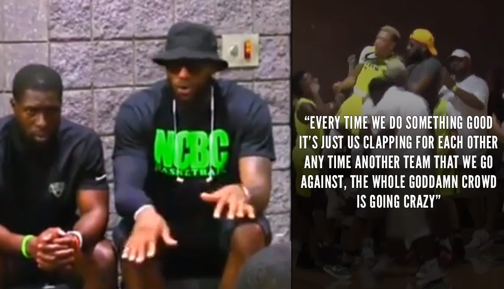 Coach LeBron James Gives Motivational Speech To Bronny & His Teammates