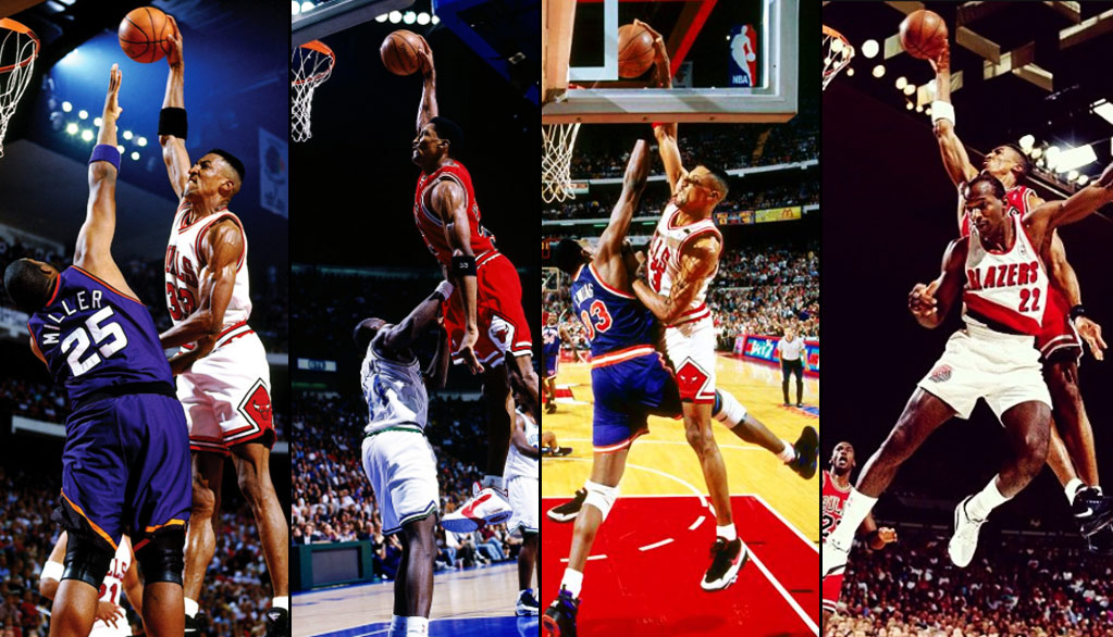 Scottie Pippen's Best Dunk On Every Team In The NBA!
