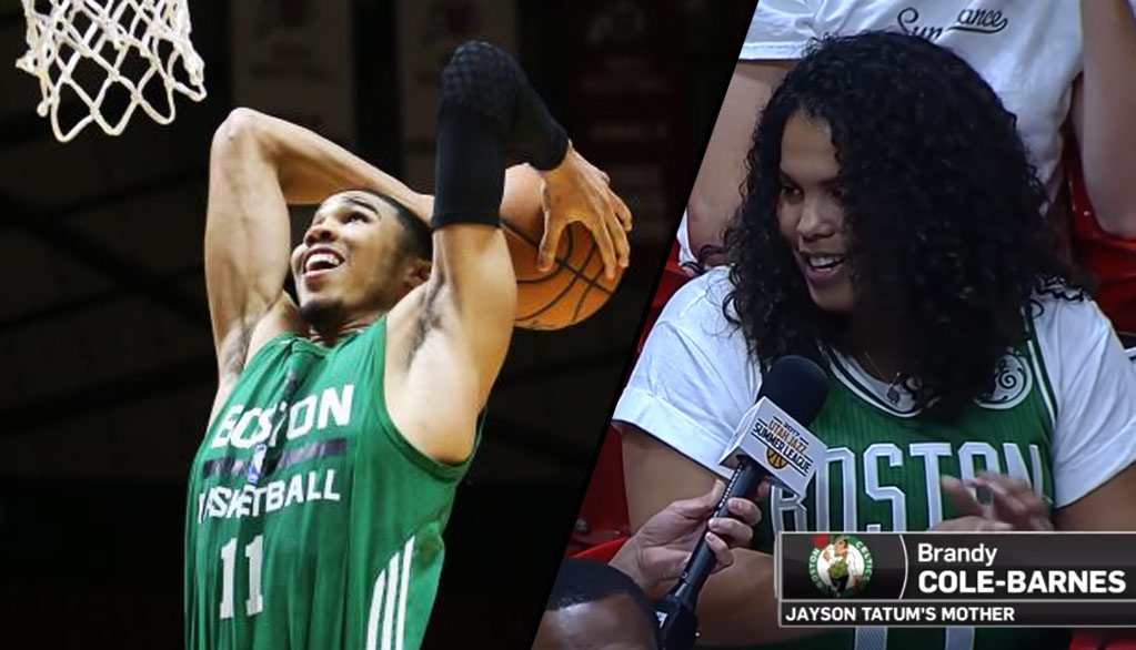 Jayson Tatum Continues To Shine, Goes For 23 & 10 In Front Of Mom