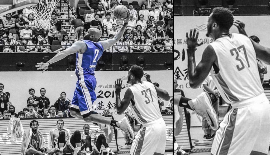 40-Year Old Vince Carter Did His Best To Entertain Upset Fans At The Yao Ming Charity Game