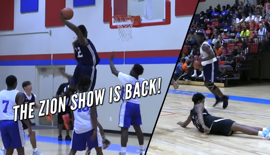 Zion Williamson Taking Flight & Dropping Defenders During 1st Games Back From Knee Injury