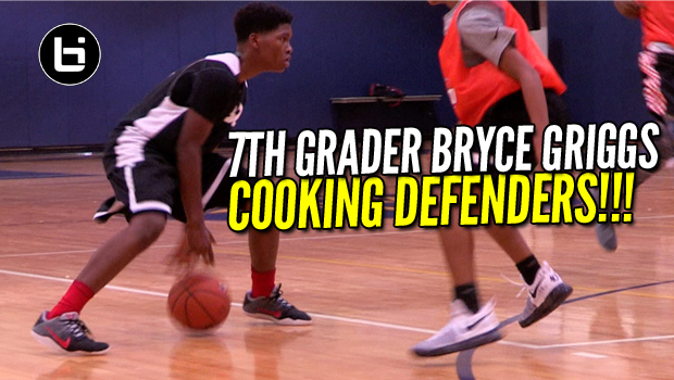 7th Grader Bryce Griggs Out Here Cooking Defenders!