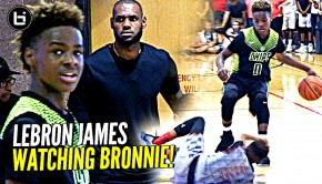 LeBron James Jr | Ballislife.com