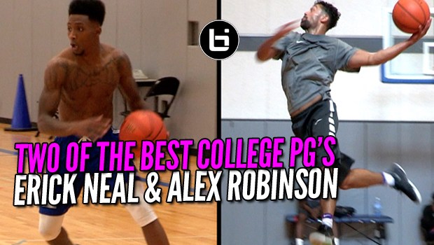 Two Of College Basketball ELITE PG'S Just Hooping in A Open Gym!
