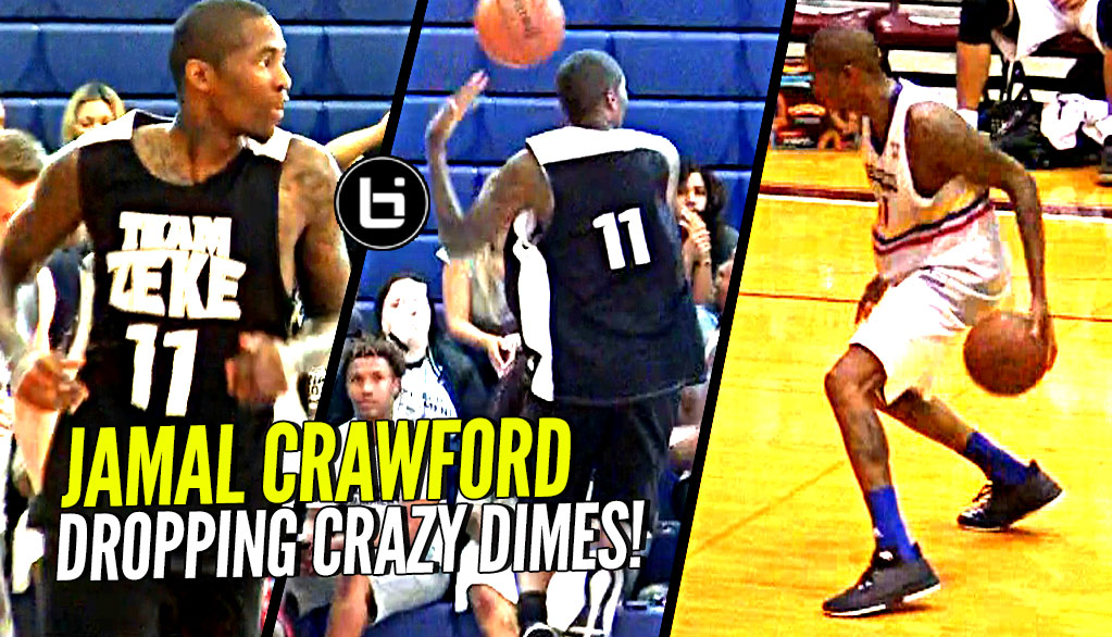 Jamal Crawford Dropping CRAZY Dimes in Isaiah Thomas's Zeke End Game & Crawsover Pro Am!