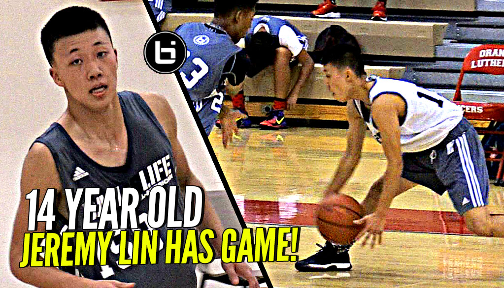 14 Year Old Jeremy Lin Can Straight Up BALL! Shows off Major Game at Ballislife Jr All American Camp
