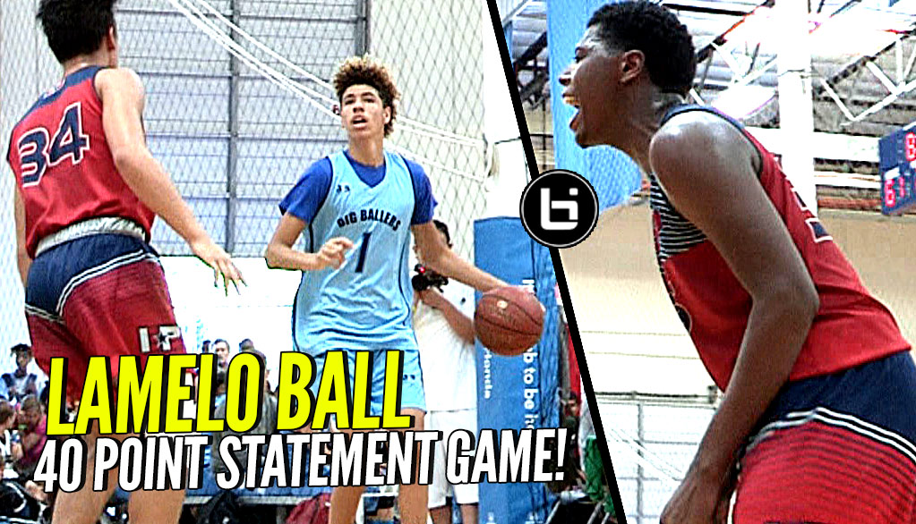 Defenders GO AT LaMelo Ball! Melo Responds By Dropping 40 POINTS All The While Filming Reality Show!