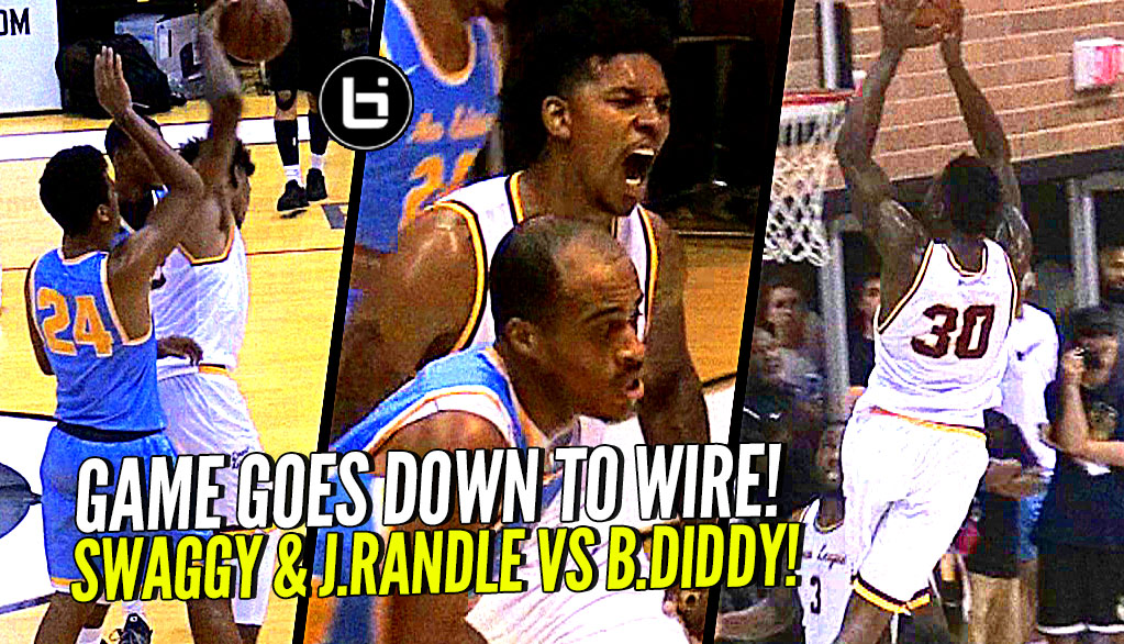 """Most Hated Player"" Nick Young & Julius Randle TEAM UP vs Baron Davis at The Drew League!"