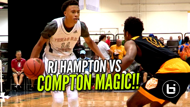 RJ Hampton Vs Compton Magic in Las Vegas! Raw Highlights