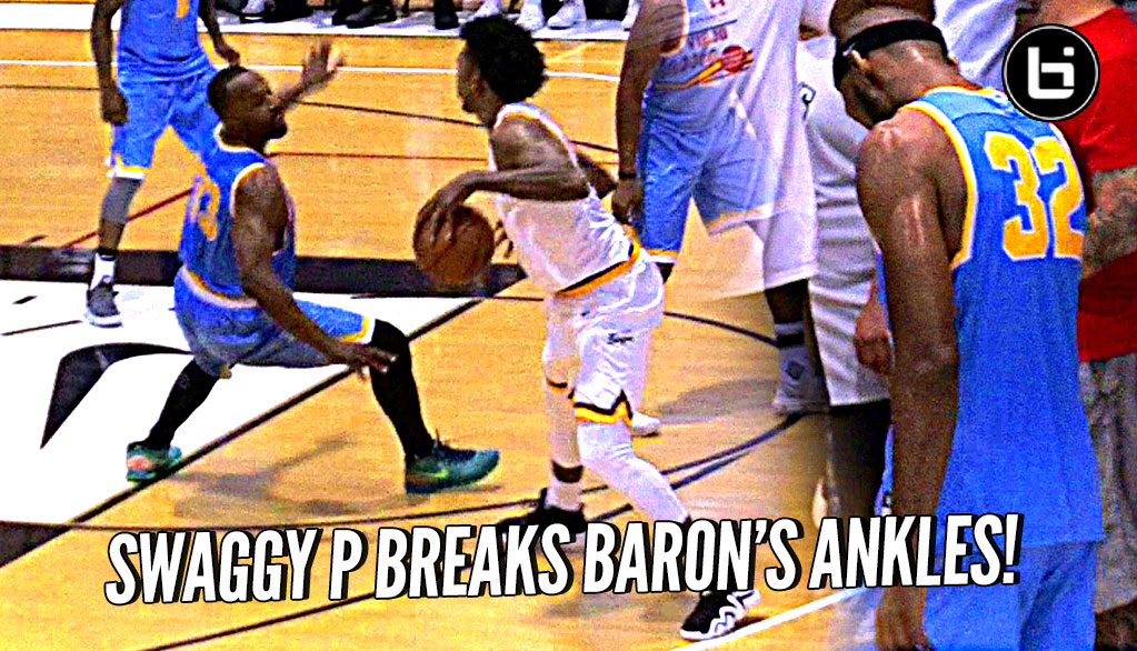 Nick Young BREAKS Baron Davis' ANKLES!! Defender Learns Lesson in Karma LOL
