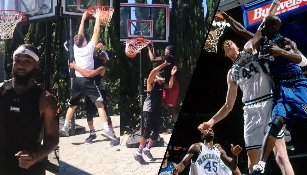 NBA Impersonator B.A: Shawn Bradley Be Like….