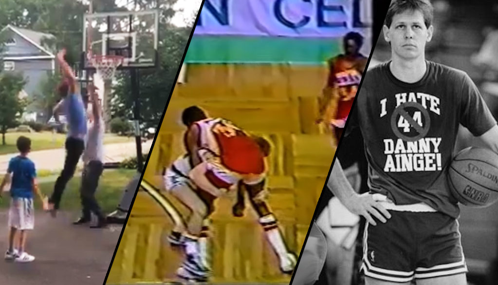 Danny Ainge Gets Posterized By His Son + Best Ainge Fights