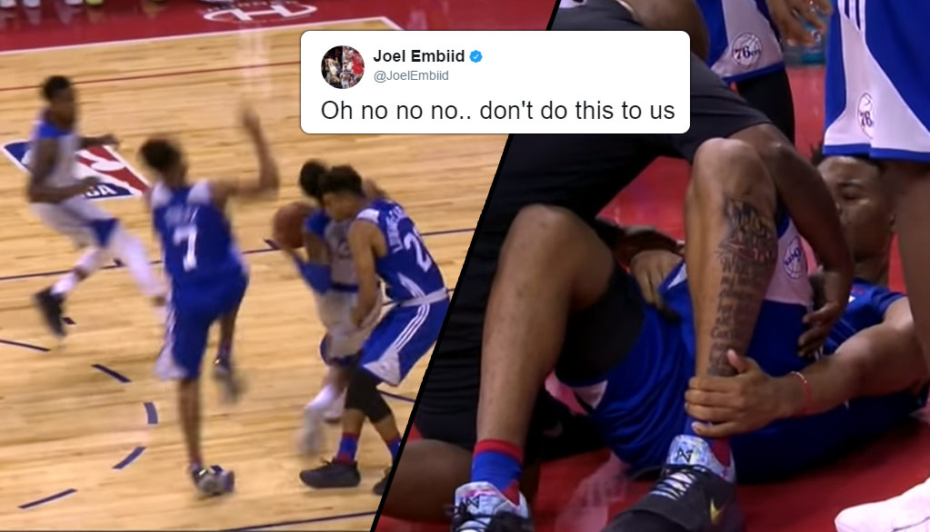 Markelle Fultz Injures Left Ankle In 2nd Summer League Game