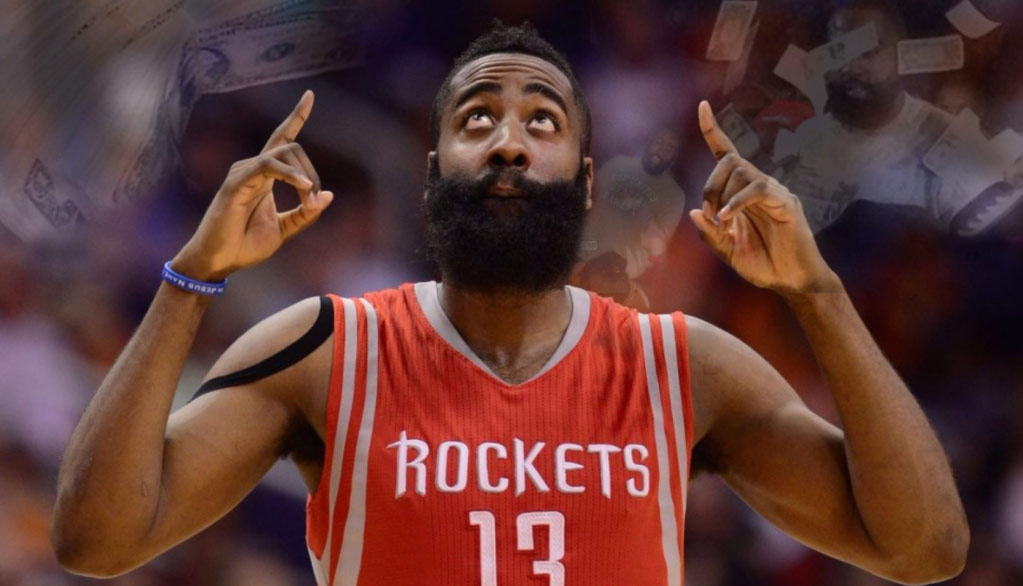 Houston Strip Club Retires James Harden's Jersey(?!) + More Great Harden Strip Club Stories