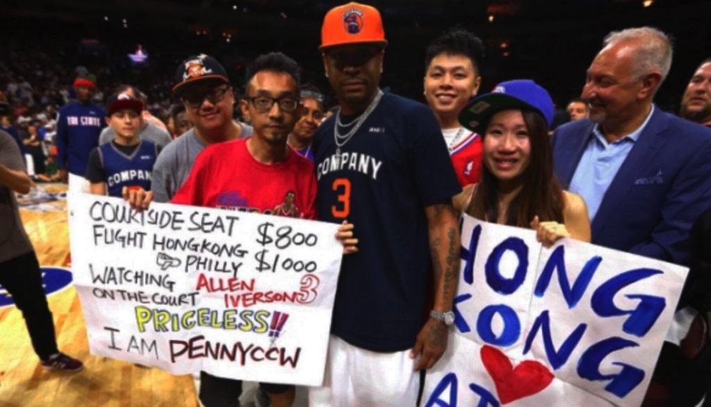 Allen Iverson's Biggest Fan, YouTuber PennyCCW, Finally Got To Meet His Idol