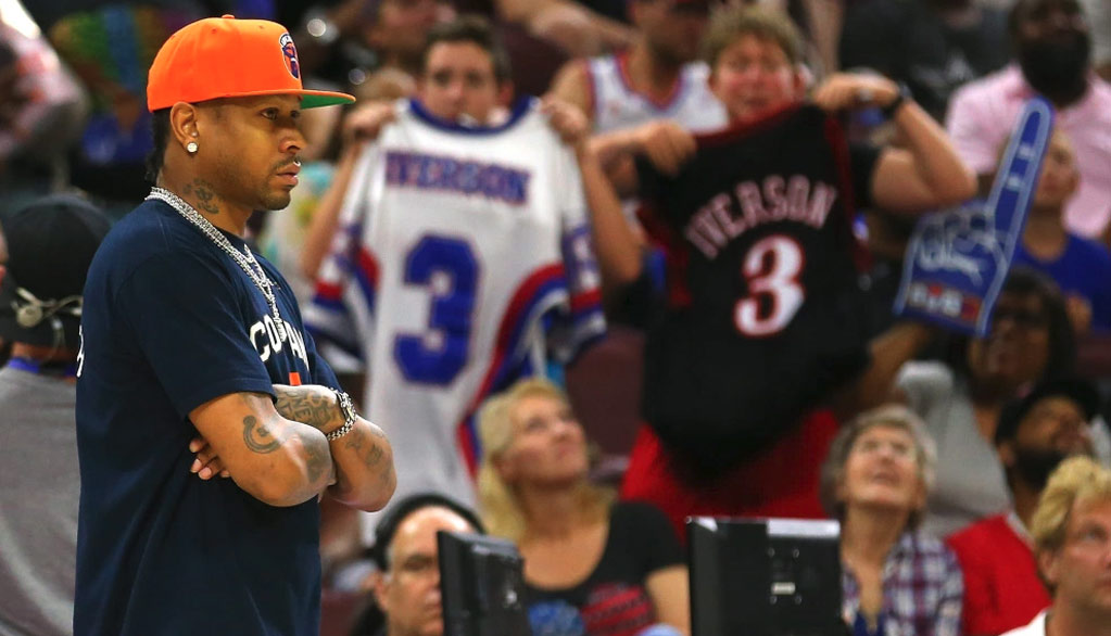 Allen Iverson Sits Out Big3 Game In Philly, Ice Cube Apologizes To Upset Fans