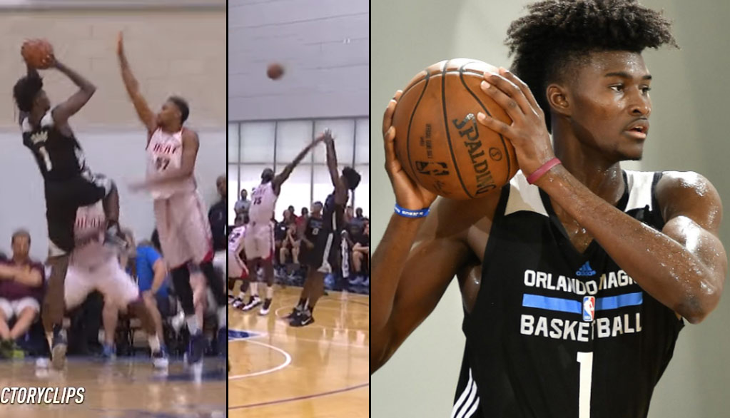 Jonathan Isaac Shows Off His Shot, Impresses In 2nd Summer League Game
