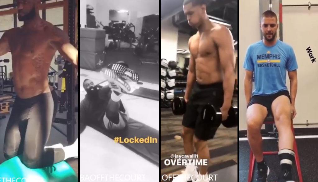 NBA Players 2017 Summer Workout Compilation