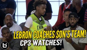 LeBron James Jr. | Ballislife.com