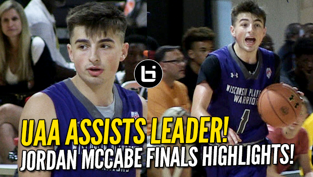 Jordan McCabe is UAA Assists Leader! Full Highlights from Finals!