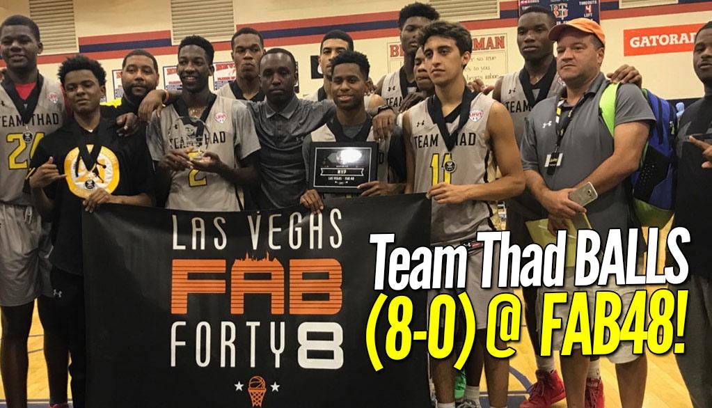 Team Thad, Cal Supreme, Team Loaded win Vegas Tourneys!