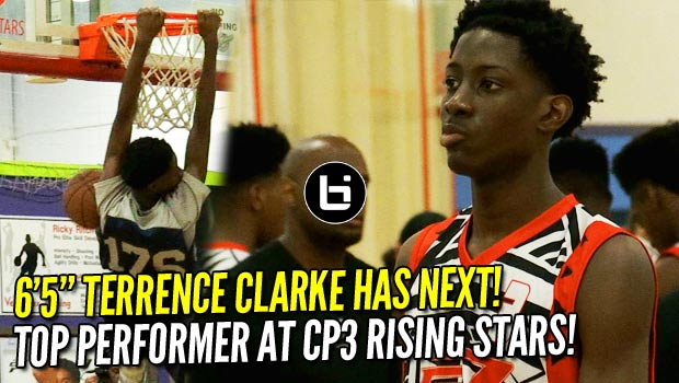 6'5″ Terrence Clarke was the TOP Prospect at 2017 CP3 Rising Stars Camp!