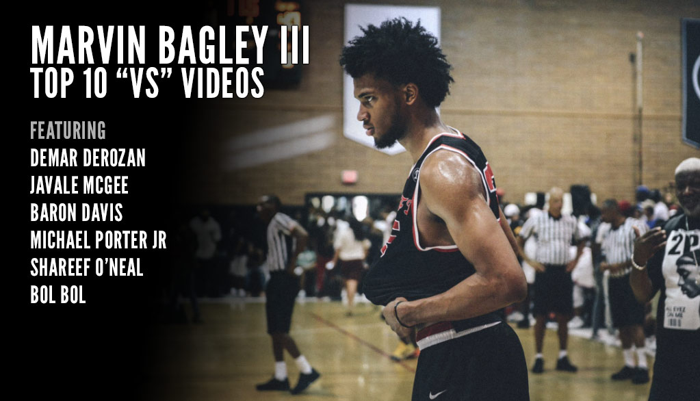 Top 10 Videos of Duke Commit Marvin Bagley III