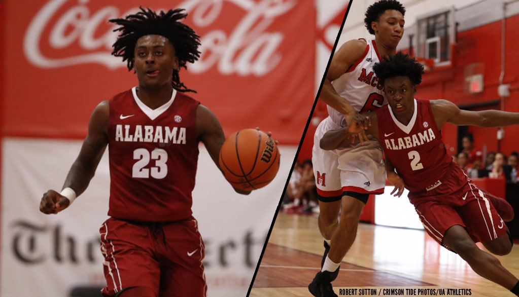 Collin Sexton & John Petty's 1st Official Game at Alabama, 39-Point Win Vs McGill