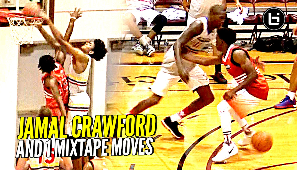 Jamal Crawford And 1 Mixtape Moves at The Crawsover! Matisse Thybulle Dunks ALL OVER DEFENDER!!