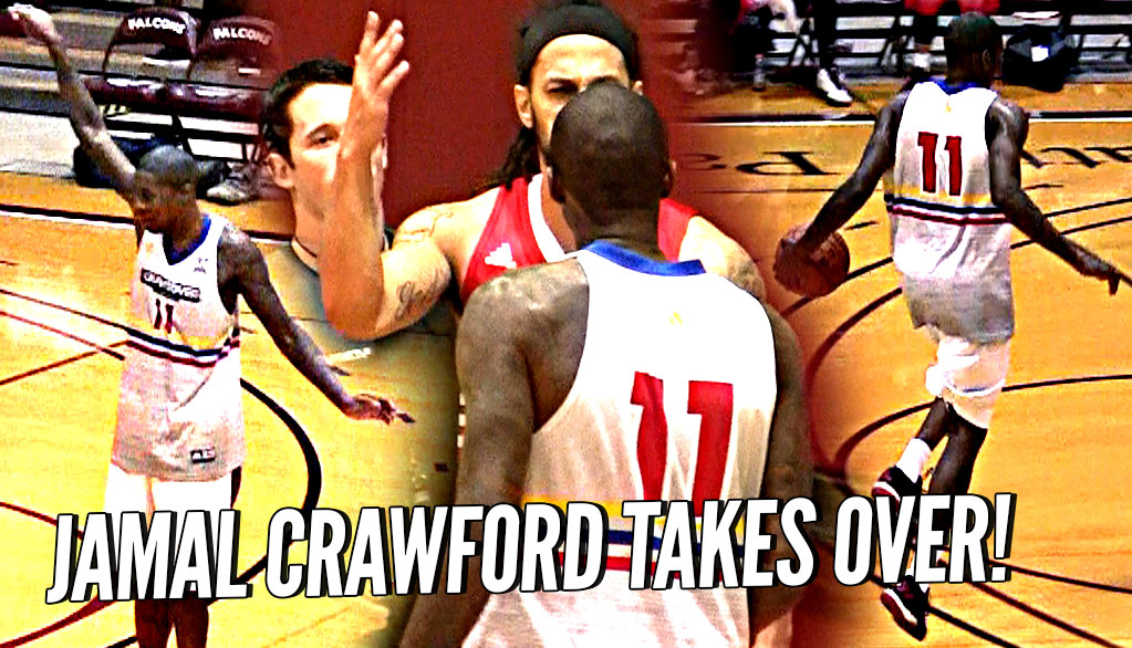 Jamal Crawford SNAPS After Game Gets SERIOUS & Heated vs Team Ballislife! Mason Plumlee Makes Crawsover Debut!