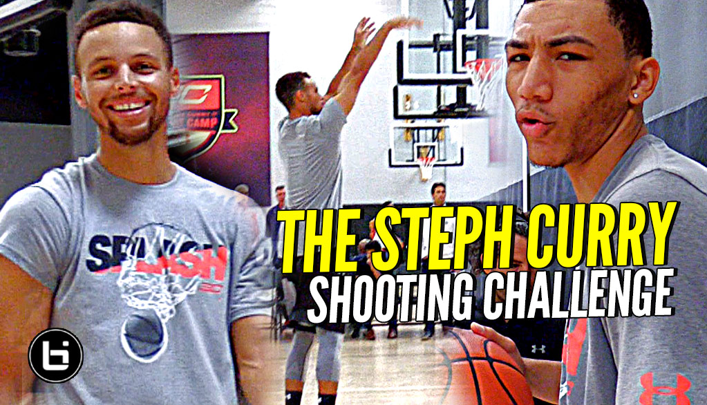 The Steph Curry Shooting Challenge! Steph vs TOP HS Guards! (No Competition Lol) How Would U Do?