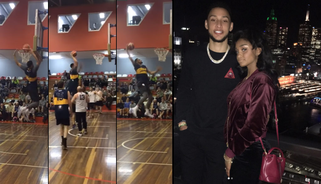 Ben Simmons Scores 34 (17 in final quarter) During Pick-Up Game In Australia