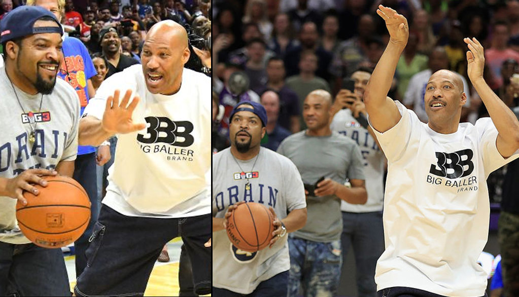 Ice Cube F'd Around & Got A W Over Triple B CEO LaVar Ball At Staples