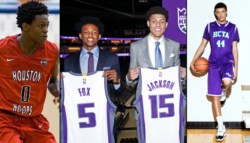 Kings Rookies De'Aaron Fox & Justin Jackson Will Return To Houston For Hurricane Relief Game