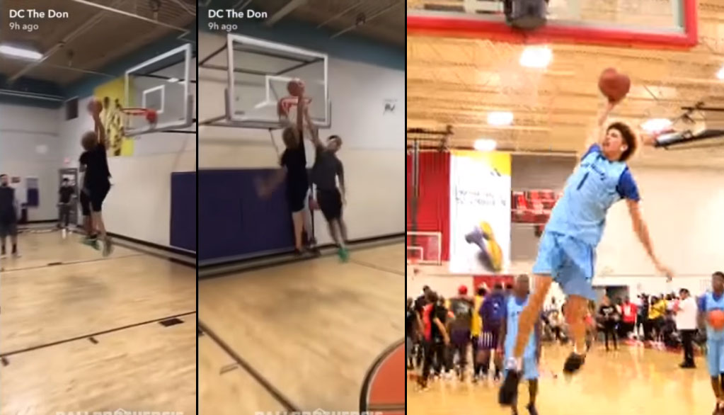 Does LaMelo Ball Have Hops?