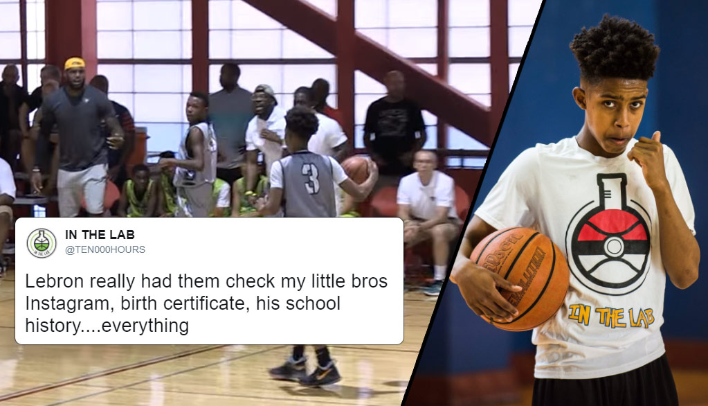 After A Loss, LeBron James Questioned The Age Of 12U Player On Opposing Team