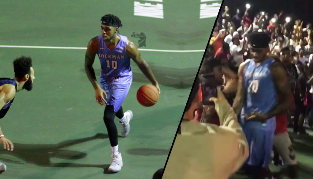 NYC Debut: D'Angelo Russell Scores 20, Hits Game-Winning 3 In OT at Dyckman