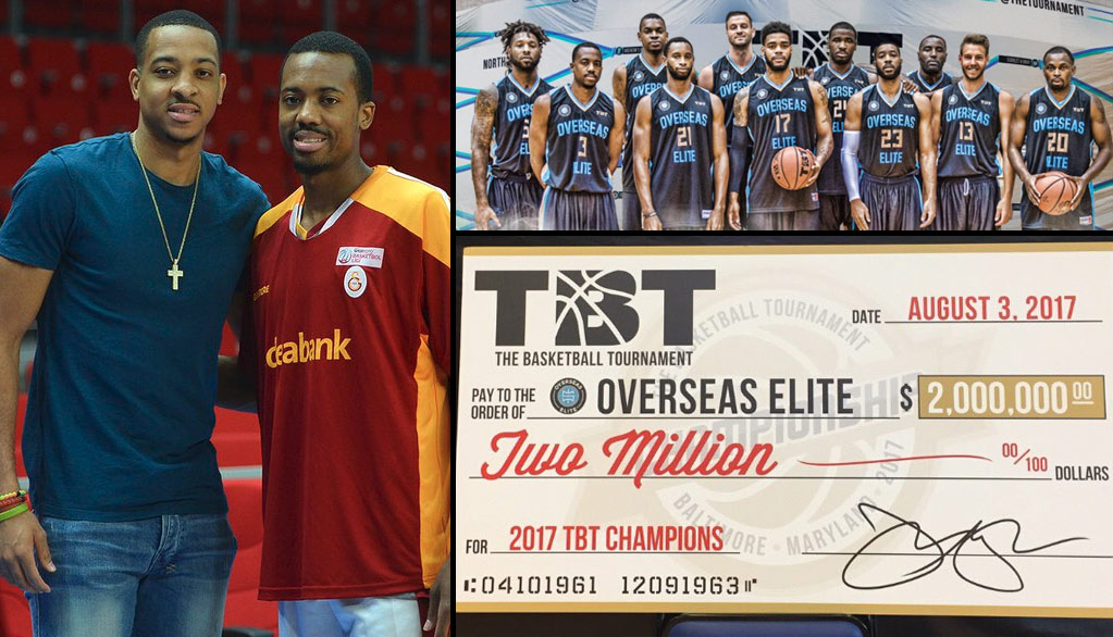 The McCollum Bros' TBT Team Wins Third Straight Title ($5 Million In Total Prizes)