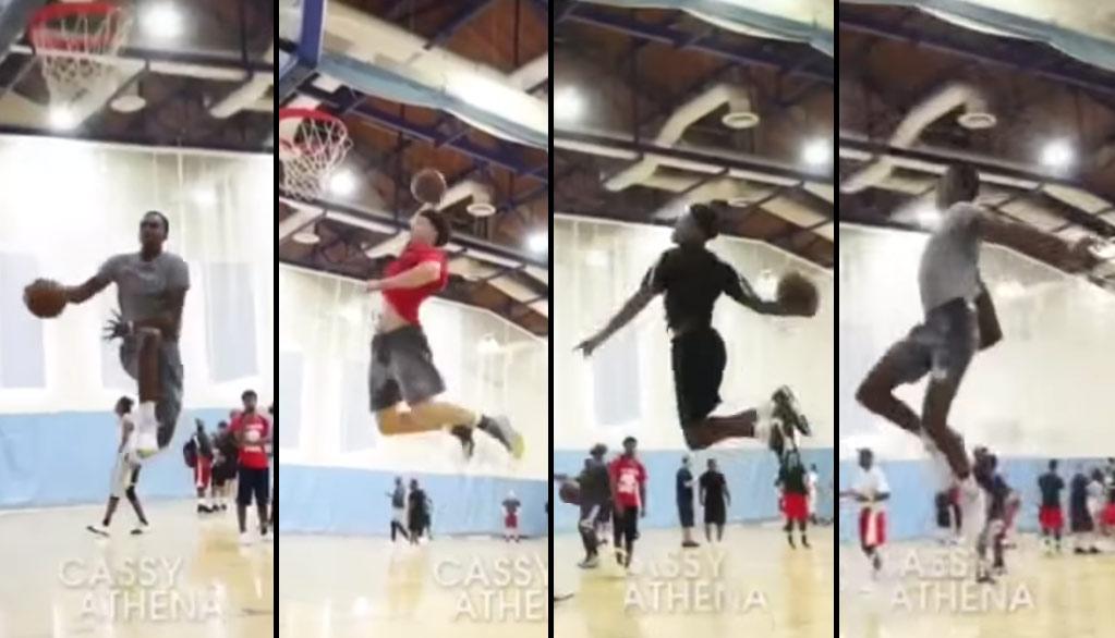 UCLA HOPS: Jaylen Hands, Air Wilkes, Prince Ali & LiAngelo Ball Dunk Fest