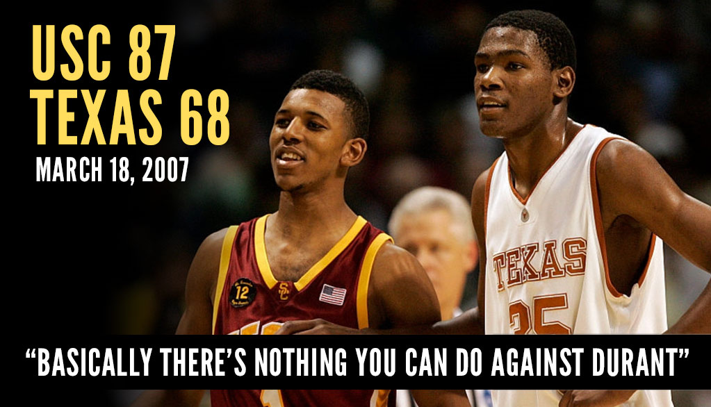 Nick Young vs Kevin Durant, KD's Last Game In College