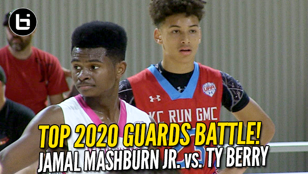Ty Berry vs Jamal Mashburn Jr! 2020 Guards Battle! Full Highlights!