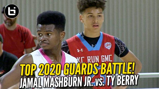 Ty Berry vs Jamal Mashburn Jr! 2020 Guards Battle! Full Highlights!