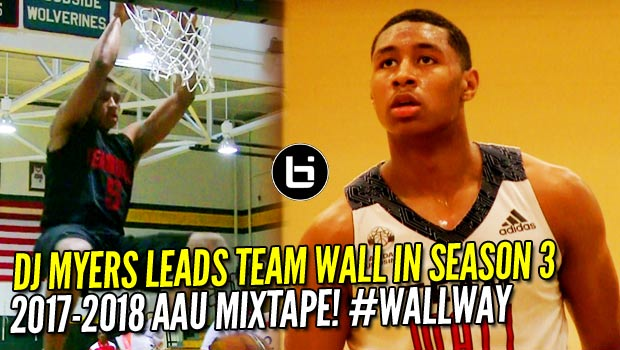 6'6″ DJ Myers May be the Most Slept on Wing in the #HoopState!! AAU Mixtape!