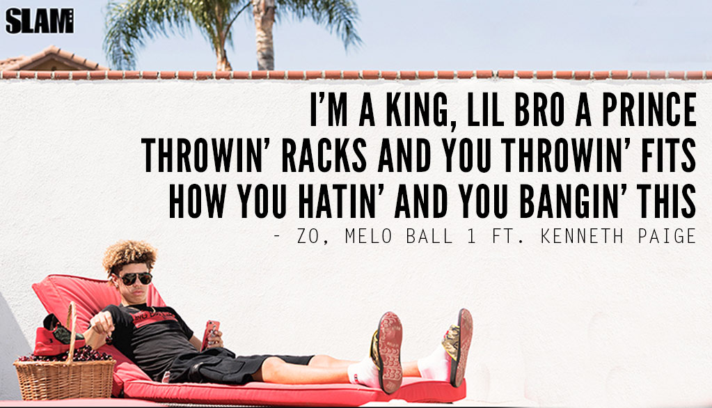 Lonzo Ball Releases Rap Song About His Brother LaMelo
