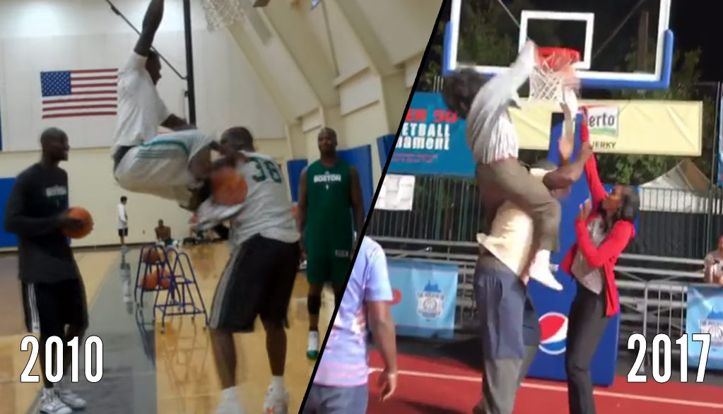 7 Years Later, Nate Robinson Dunks On Shaq Again!