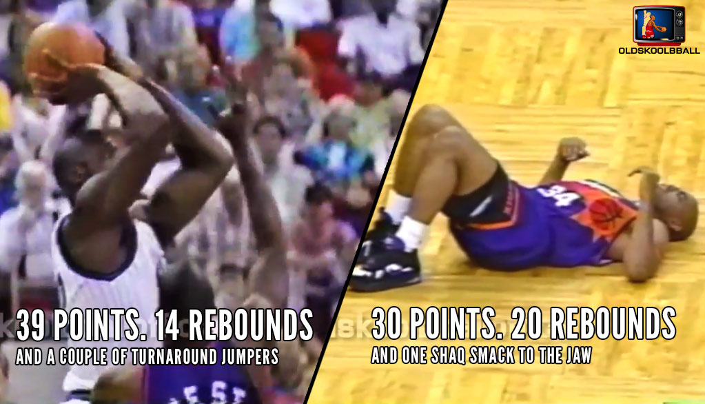 Shaq Drops Charles Barkley During Their First Classic Duel In 1994