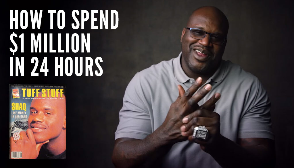 How Shaq Spent His First Million Dollars In One Day