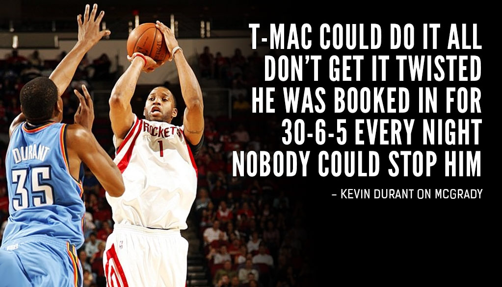 My Five Favorite Tracy McGrady Moments
