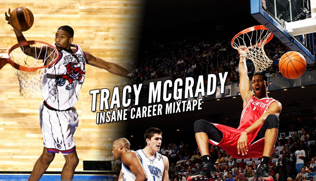 The NBA Just Released The Most Insane Tracy McGrady Career Mixtape